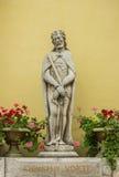 基督雕塑天主教教会的 免版税图库摄影