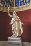 基督雕塑救主 库存照片