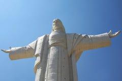 基督雕象 库存照片