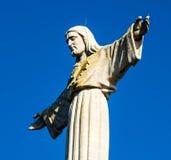 基督・耶稣纪念碑 免版税库存照片