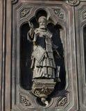 基督细节救主大教堂在莫斯科 库存照片