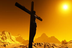 基督 向量例证