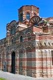 基督Pantocrator教会在内塞伯尔,保加利亚 图库摄影