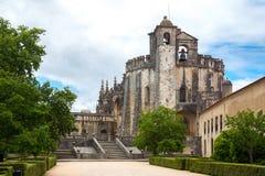 基督Tomar,里斯本葡萄牙女修道院  图库摄影