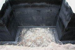 基础排水系统3 免版税库存照片