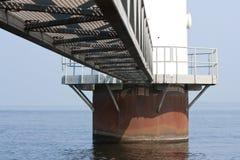 基础海运风车 免版税库存图片