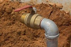 基础设施供应水 库存照片