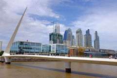 基础设施在布宜诺斯艾利斯 免版税库存图片