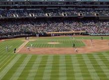基础beckett josh被装载的间距Red Sox投掷 库存照片