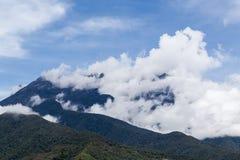 基纳巴卢山 免版税库存照片