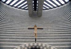 基耶萨二圣乔瓦尼巴蒂斯塔-瓦尔Maggia 库存照片