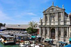 基耶萨二圣玛丽亚二拿撒勒在威尼斯,意大利 免版税图库摄影