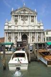 基耶萨二圣玛丽亚我Scalzi的拿撒勒教会,基耶萨degli Scalzi 库存照片