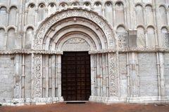 基耶萨二圣玛丽亚della广场安科纳 图库摄影