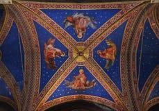 基耶萨二圣玛丽亚sopra manerva 免版税图库摄影