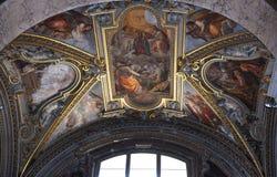 基耶萨二圣玛丽亚sopra manerva 库存照片