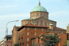 基耶萨del Sacro Cuore,波隆纳,意大利 免版税库存图片