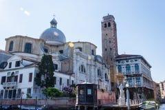 基耶萨di圣热雷米亚 库存照片