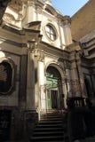 基耶萨di圣Nicola Al Nilo,拿坡里 免版税库存照片