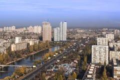 基辅市-乌克兰的首都 库存照片