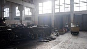 基辅装甲的工厂 库存照片
