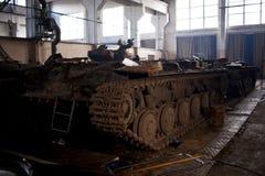 基辅装甲的工厂 免版税库存照片