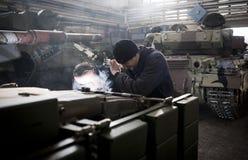 基辅装甲的工厂 库存图片