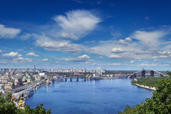 基辅都市风景 图库摄影