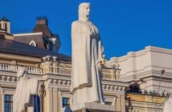 基辅,乌克兰美妙的雕象  免版税图库摄影