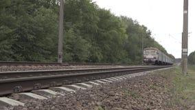 基辅,乌克兰, 2016年9月20日,火车的迅速运动 影视素材