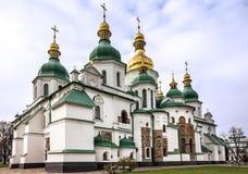 基辅,乌克兰 圣徒索菲娅修道院大教堂,联合国科教文组织世界他 免版税库存照片