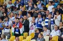 基辅,乌克兰- 2016年9月13日:发电机基辅爱好者在体育场的 库存图片