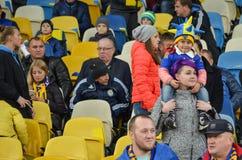 基辅,乌克兰- 2017年10月09日:有attribu的一个小女孩 库存照片