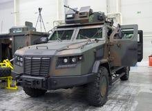 基辅,乌克兰- 2016年10月12日:防弹车公司 免版税库存图片