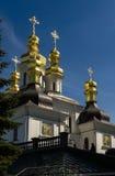 基辅,乌克兰- 2017年4月17日:保佑的维尔京的诞生的教会 图库摄影