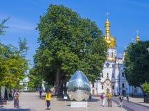 基辅lavra pechersk 免版税图库摄影