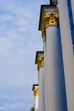 基辅Pechersk拉夫拉的古老柱子 免版税库存照片
