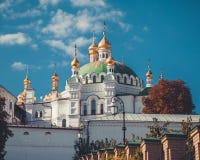 基辅Pechersk拉夫拉,正统修道院 基辅,乌克兰 图库摄影