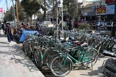 基达自行车  库存图片