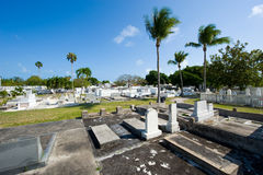 基韦斯特岛公墓 免版税库存照片