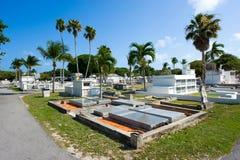 基韦斯特岛公墓 库存图片