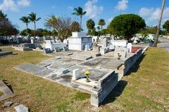 基韦斯特岛公墓 图库摄影