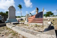 基韦斯特岛公墓 库存照片