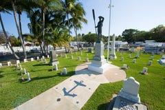 基韦斯特岛公墓 免版税库存图片