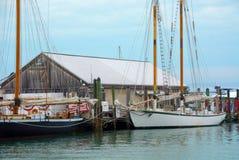 基韦斯特岛历史的海口 免版税库存照片