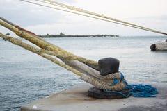 基韦斯特岛口岸在佛罗里达美国 免版税库存图片