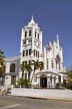 基韦斯特岛圣保罗` s主教制度的教会 免版税库存照片