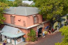基韦斯特岛壳仓库,佛罗里达,美国 库存图片