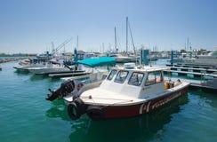 基韦斯特岛港口  库存图片