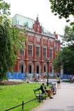 贾基洛尼亚大学,克拉科夫,波兰 免版税图库摄影
